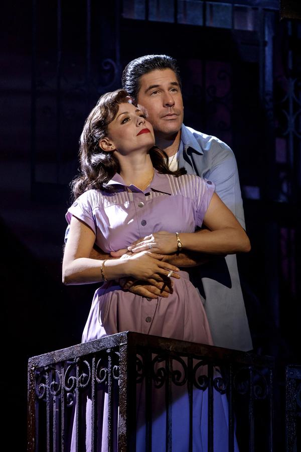 Michelle Aravena (Rosina) and Richard H. Blake (Lorenzo)