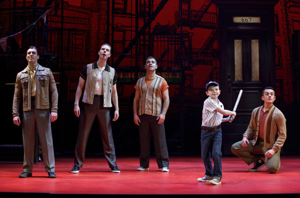 Photo Flash: First Look At The National Tour of A BRONX TALE