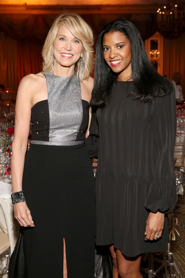 Paula Zahn and Renee Elise Goldsberry