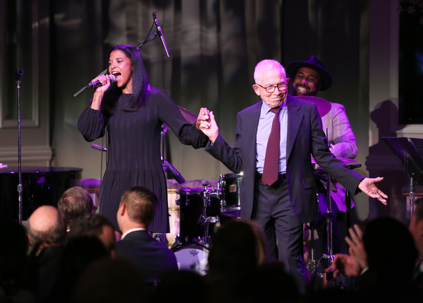 Renee Elise Goldsberry and Donald Newhouse