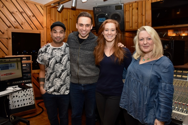 Andros Rodriguez (Engineer), Taylor Peckham, Kennedy Caughell and Lynn Pinto (Producer)