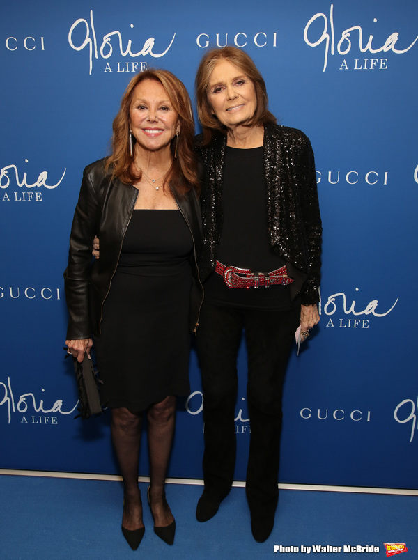 Marlo Thomas and Gloria Steinem  Photo