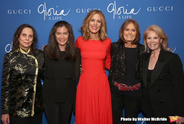 Emily Mann, Diane Paulus, Christine Lahti, Gloria Steinem and Daryl Roth