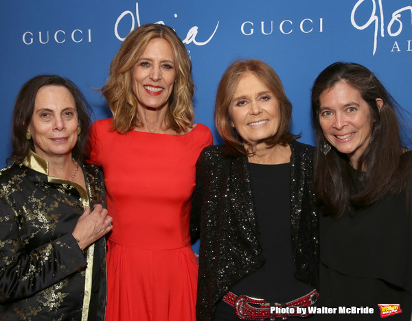 Emily Mann, Christine Lahti, Gloria Steinem and Diane Paulus