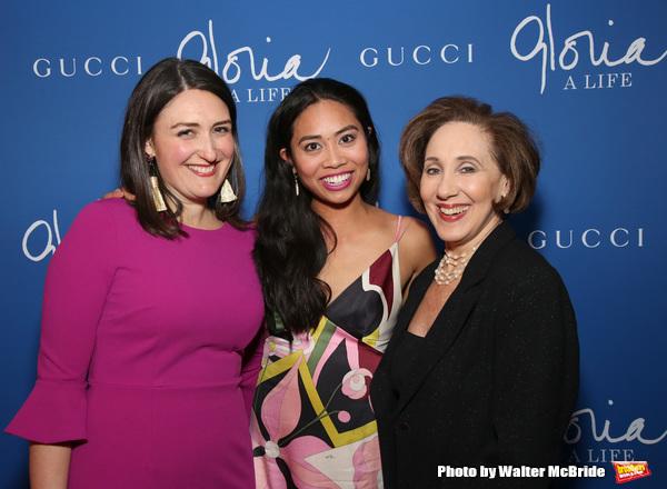Liz Wisan, Francesca Fernandez McKenzie and Joanna Glushak