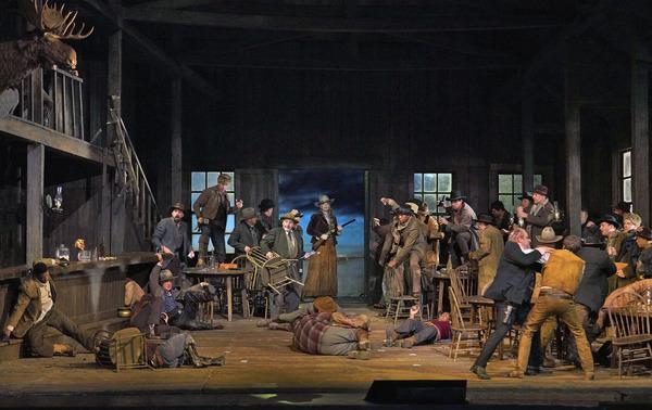 Photo Flash: First Look At LA FANCIULLA DEL WEST at The Met