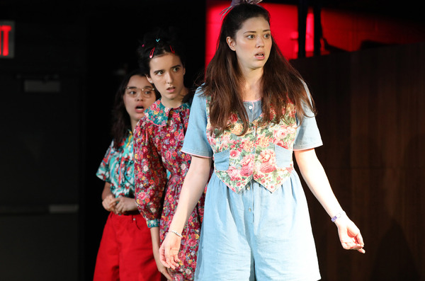 Midori Francis, Abby Corrigan and Nicole Rodenburg