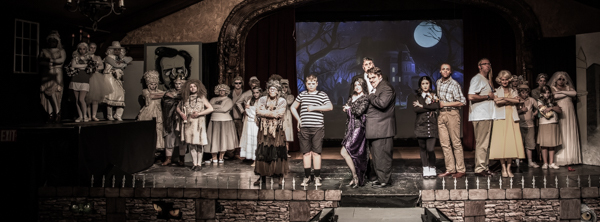 Photo Coverage: First look at Wagnalls Community Theater Presents THE ADDAMS FAMILY – THE MUSICAL