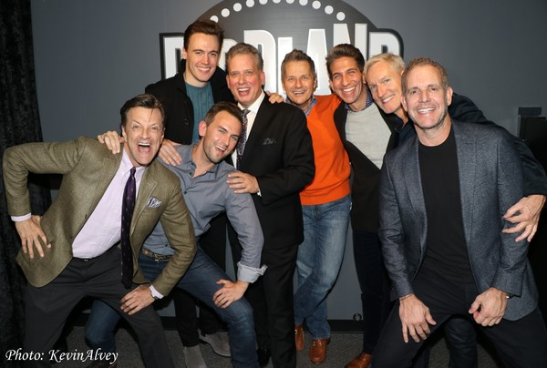 Jim Caruso, Danny Reichard, Billy Stritch, Erich Bergen, Tom Postillo, Mickey Conlon, Chuck Thomas, Michael Kretchmar