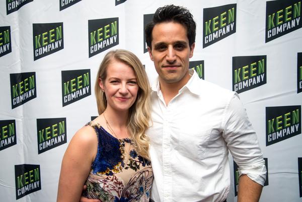 Whitney Bashor with her husband, Jared Zirilli  Photo