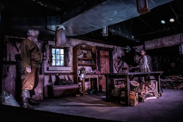 Photo Flash: First Look at THE MAN-BEAST at Know Theatre