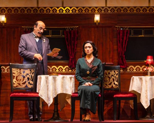 Tony Amendola and Zarah Mahler