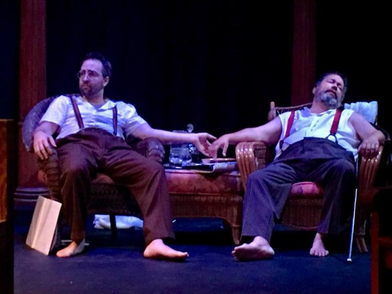 BWW Review: IN REGARD TO FLIGHT, THE REMARKABLE CONCLUSION OF THE HUCK ETERNAL CYCLE at Just Off-Broadway Theatre, Kansas City