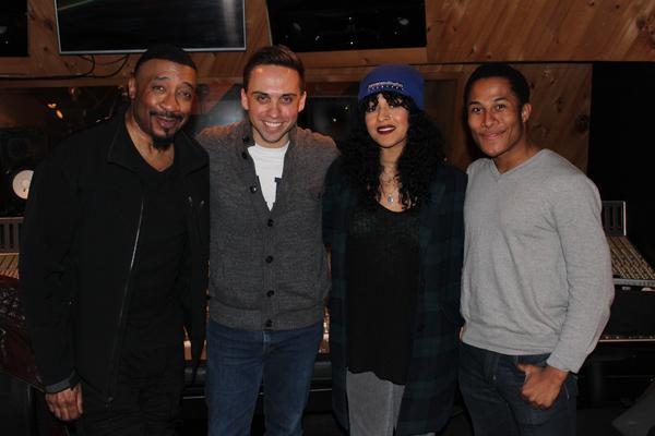 David Jennings, Taylor Peckham, Ximone Rose and Daniel Yearwood (Photo Courtesy of Lynn Pinto)