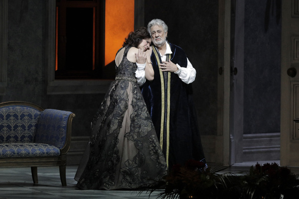 Ana Maria Martinez and Placido Domingo