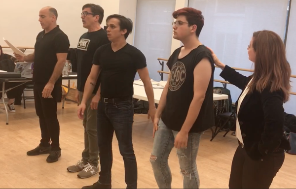 Photo Flash: Inside Rehearsal For NUCLEAR FOLLIES: A Musical Revue About the End of the World