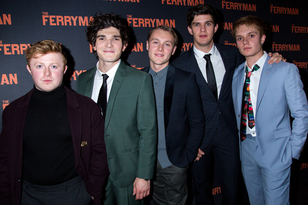 Conor MacNeill, Fra Fee, Rob Malone, Niall Wright, Tom Glynn-Carney