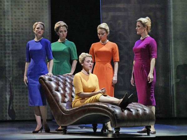 Photo Flash: Get A First Look At MARNIE at The Met