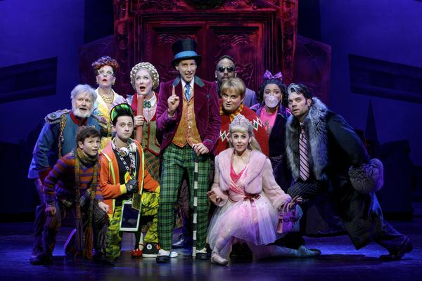 Noah Weisberg as Willy Wonka