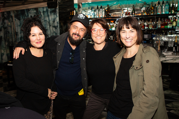 Adrienne Armstrong & Billie Joe Armstrong, Head Over Heels lead producer Christine Russell, Head Over Heels band member Catherine Popper