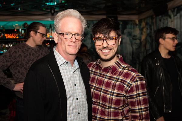 James Magruder and associate director Austin Regan