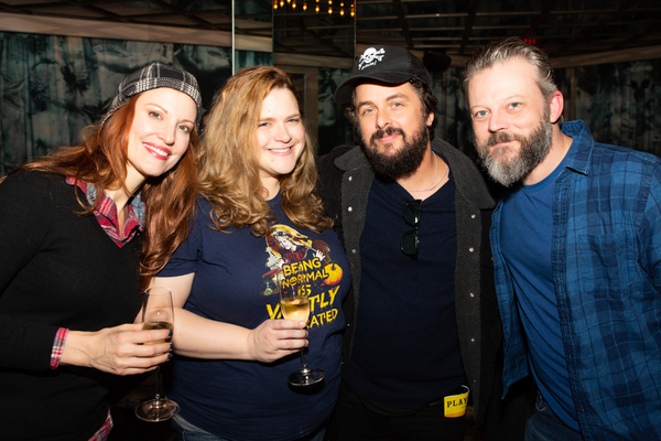 Rachel York, Bonnie Milligan, Billie Joe Armstrong, Jeremy Kushnier