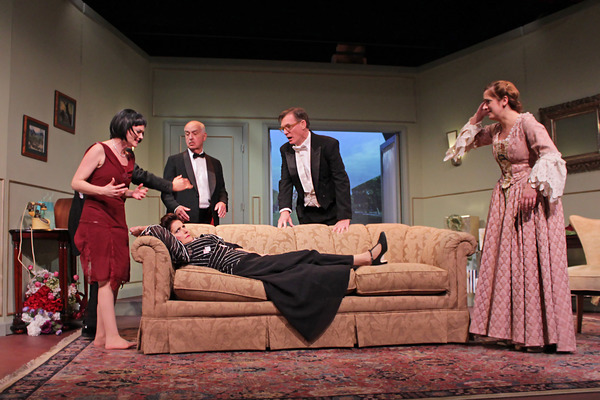 Photo Flash: A COMEDY OF TENORS Comes to Quogue for Three Weeks!