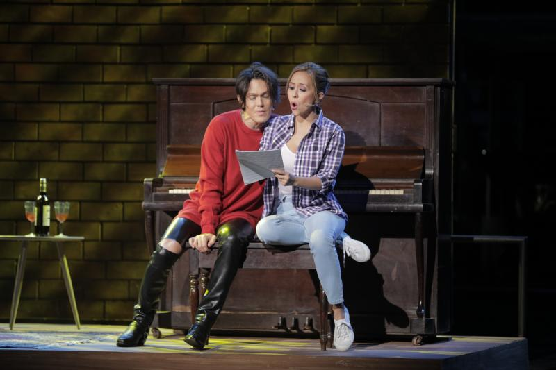 BWW Review: Superb Cast, Serviceable Script Mark The World Premiere of ALL OUT OF LOVE, The Musical