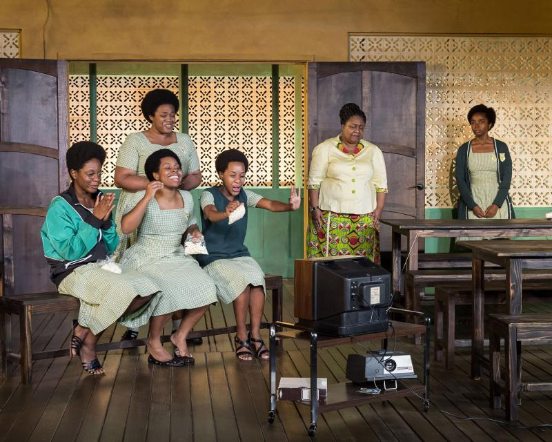 BWW Review:  MCC Encores Jocelyn Bioh's Colorism Drama  SCHOOL GIRLS; OR, THE AFRICAN MEAN GIRLS PLAY