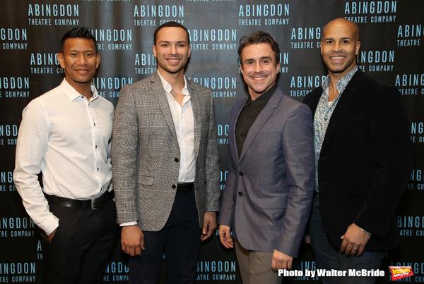 Albert Guerzon, Jeffrey Gorti, Josh Walden and Jody Reynard Photo