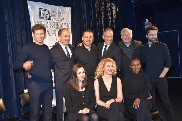 Tonight's Cast-Tony Roach, Daniel Jenkins, David Shih, Thom Sesma, Tim Jerome, Michael Donna, Talene Monahon, Margaret Loesser Robinson and Brenda Braxton