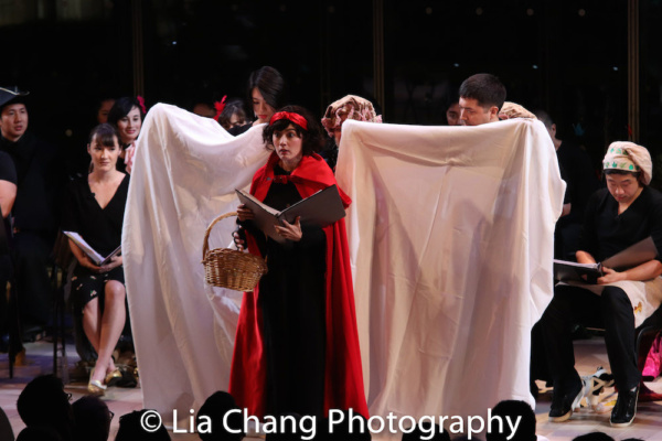 What Big Eyes You Have: Alex Chester (Little Red Ridinghood), Shan Y Chuang (Wood Dwe Photo
