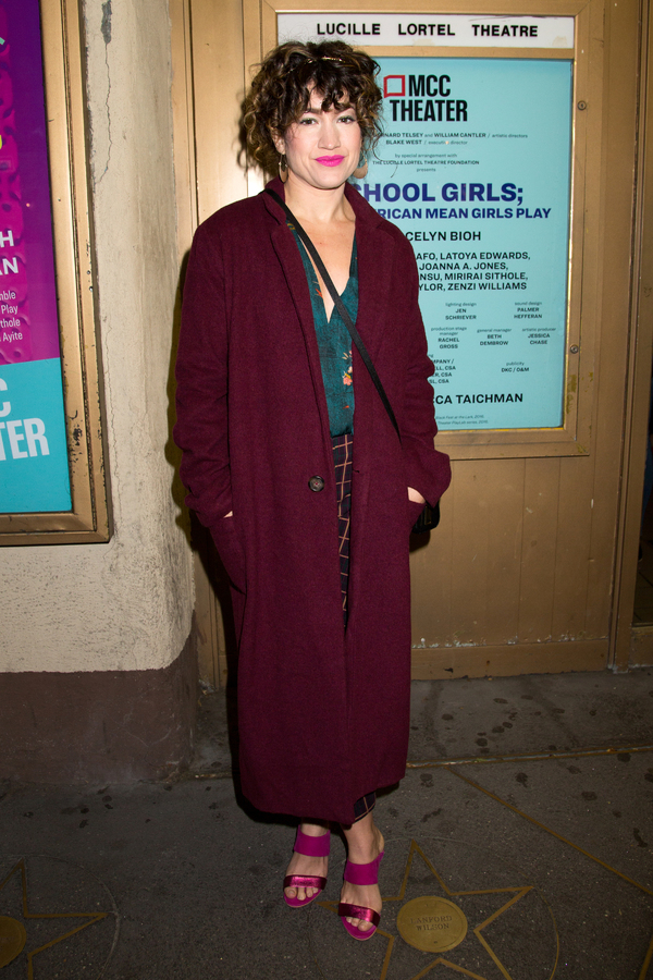 Photo Coverage: On The Opening Night Red Carpet for SCHOOL GIRLS