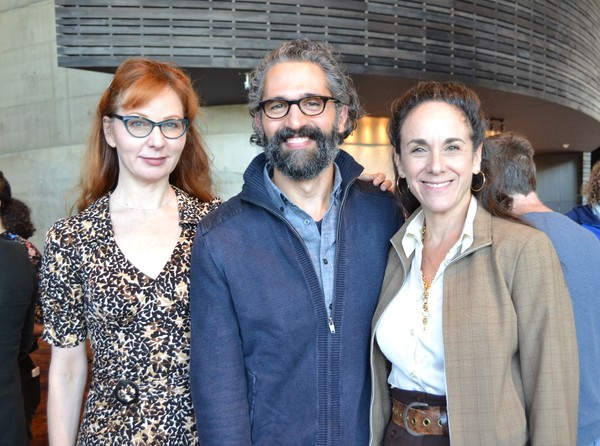 Susan Lynskey, Ben Cherry, and Susan Rome