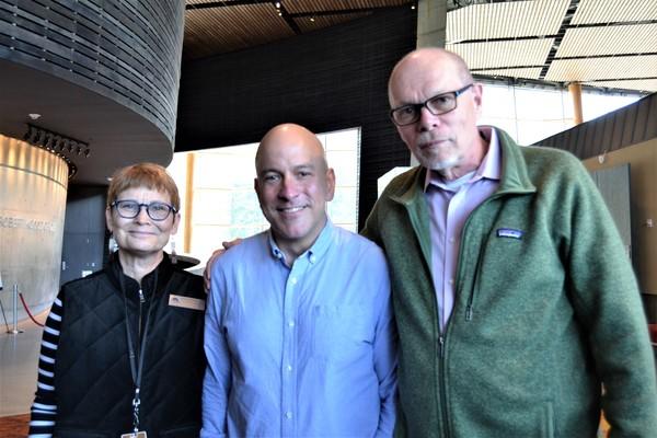 Anita Maynard-Losh, Eric Rosen and Edgar Dobie
