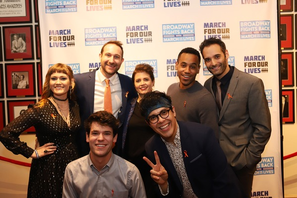 Photo Coverage: Jason Robert Brown, Ariana DeBose, Betsy Wolfe & More Hit the BROADWAY FIGHTS BACK Red Carpet!