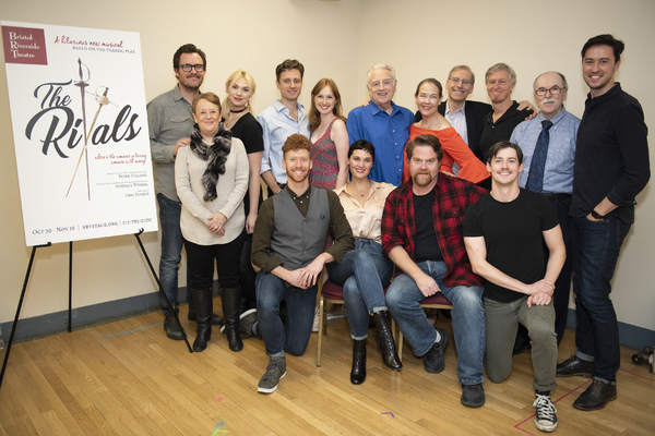Photo Flash: Harriet Harris, Erin Mackey, Ed Dixon And More In Rehearsal For THE RIVALS At Bristol Riverside Theatre