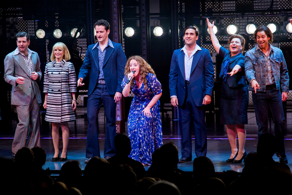 Abby Mueller and the cast of BEAUTIFUL