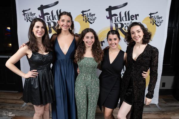 Ruthy  Froch,  Mel  Weyn,  Emerson  Glick,  Danielle  Allen  and  Natalie  Powers