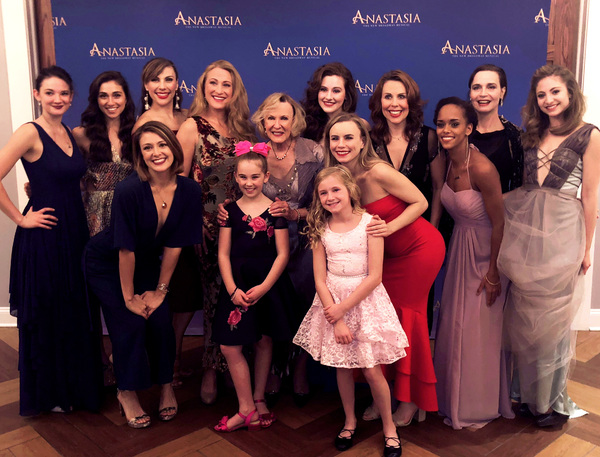 ANASTASIA Tour Launch Party featuring Claire Rathbun (Ensemble), Sareen Tchekmedyian  Photo