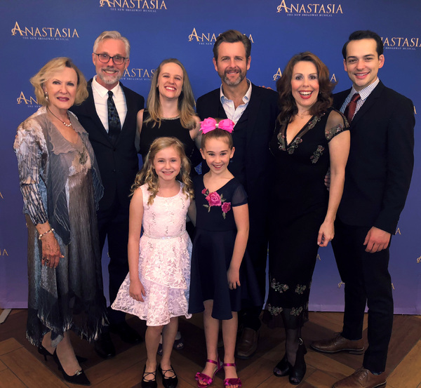 ANASTASIA Tour Launch Party featuring Joy Franz (Dowager Empress), Bill Burns (Associ Photo
