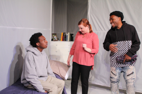 Photo Flash: First Floor Theater's HOODED, OR BEING BLACK FOR DUMMIES Begins November 17