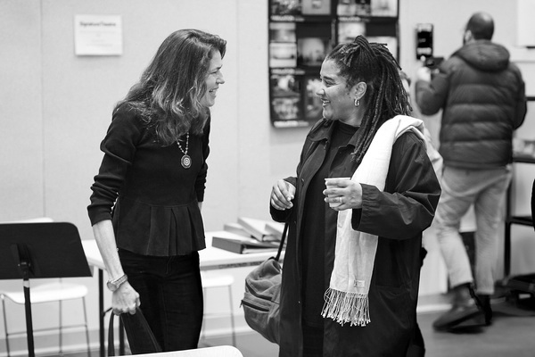 Paige Evans and Lynn Nottage