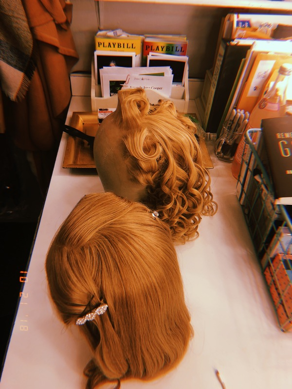 """�""""Gold hair with a gentle curl…""""  Our fabulous Hair Supervisor Mary  Photo"""