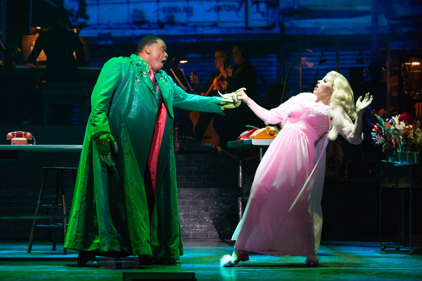 Photo Flash: First Look At Megan Hilty, Josh Radnor, and More in LITTLE SHOP OF HORRORS
