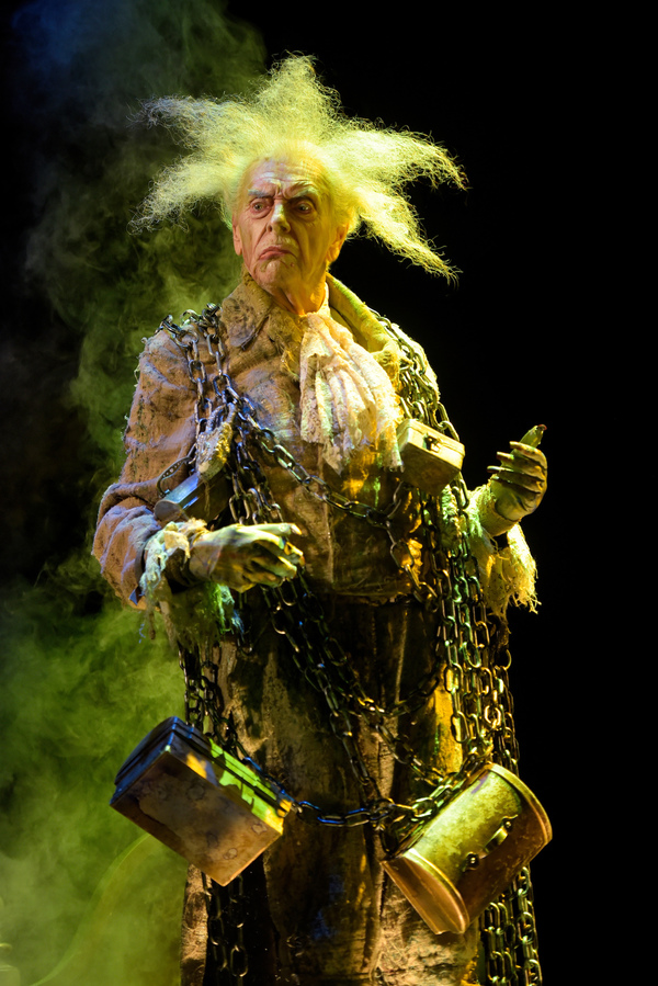 Ken Ruta as the Ghost of Jacob Marley