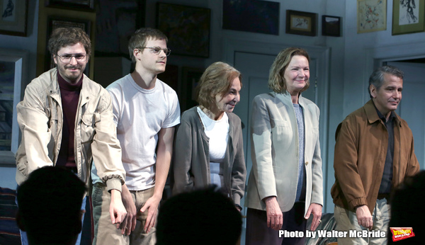 Michael Cera, Lucas Hedges, Elaine May, Joan Allen and David Cromer