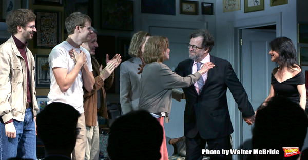 Photo Coverage: The Cast of THE WAVERLY GALLERY Takes Their Opening Night Bows