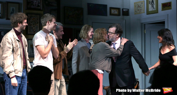 Michael Cera, Lucas Hedges, David Cromer, Joan Allen, Elaine May, Kenneth Lonergan an Photo