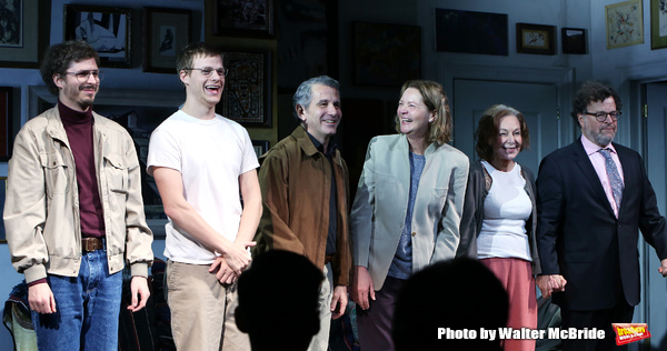 Michael Cera, Lucas Hedges, Elaine May, Joan Allen, David Cromer and Kenneth Lonergan Photo